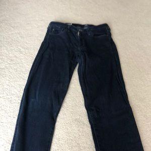 Adriano Goldschmied dark blue jeans. Size 27R.